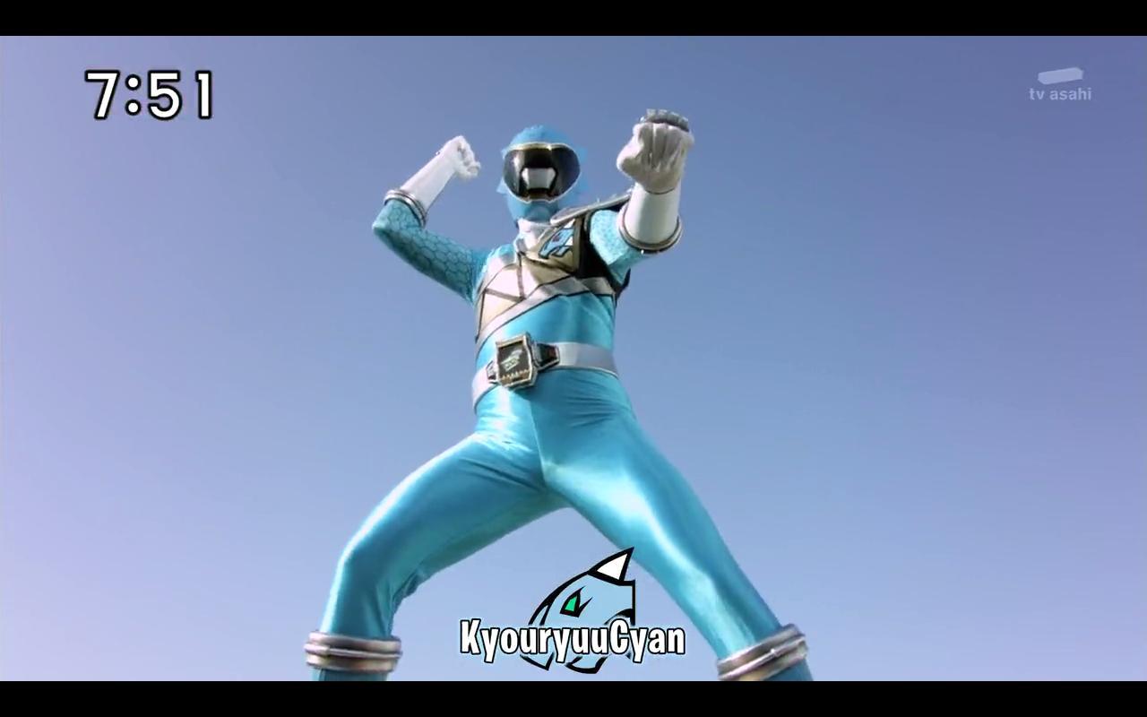 Kyoryuger Brave 6: Ankydon is a MACHO Voltasaur ...