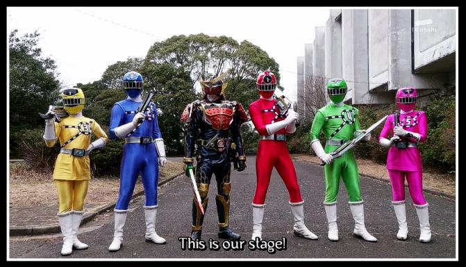 Kamen Rider Gaim VS Ressha Sentai ToQger: Mega Review!!!